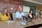 LLAF spaudos konferencija prieš pasaulio čempionatą Maskvoje