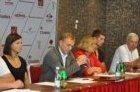 Europos komandinio čempionato spaudos konferencija