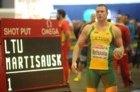 Rimantas Martišauskas Europos uždarų patalpų čempionate